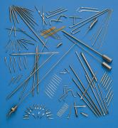 Pins, needles and wire based products